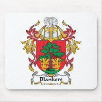 Blankers Family Crest Mousepad