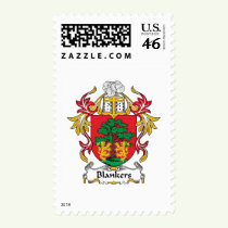 Blankers Family Crest Stamps