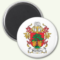 Blankers Family Crest Magnet