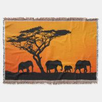 blanket African savannah, African savannah blanket