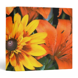 Blanket among the Lilies Binder