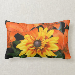 Blanket among the Lilies Floral Pillow