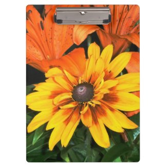 Blanket Among the Lilies Flower Clipboards