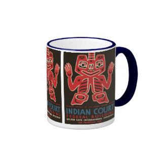 Blanket design of the Haida Indians Coffee Mug
