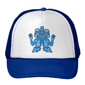 Blanket design of the Haida Indians Trucker Hats