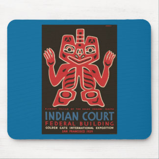 Blanket design of the Haida Indians Mouse Pads