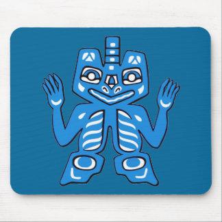 Blanket design of the Haida Indians Mousepad