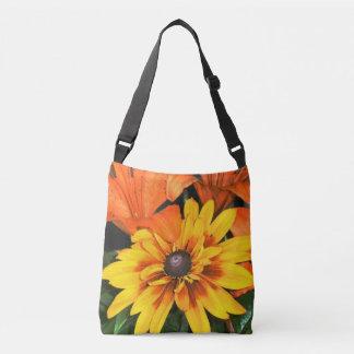 Blanket Flower Among the Lilies Crossbody Bag
