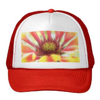Blanket Flower Blossom Mesh Hats