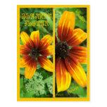 BLANKET FLOWER BOOKMARKS POSTCARDS