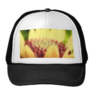 Blanket Flower Bud Mesh Hats