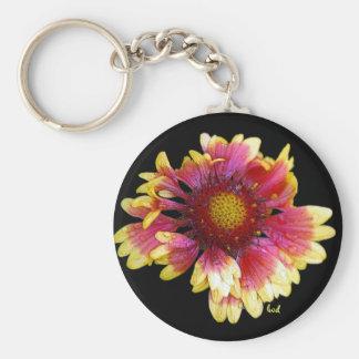 Blanket Flower Keychain
