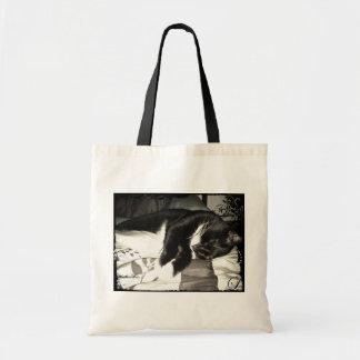 Blanket For Lucy Vintage Tote Bag
