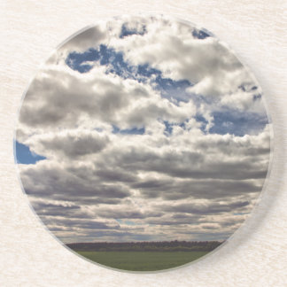 Blanket of Clouds HDR Drink Coaster