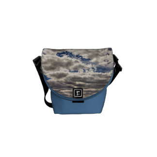 Blanket of Clouds HDR Courier Bag