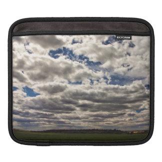 Blanket of Clouds HDR iPad Sleeves
