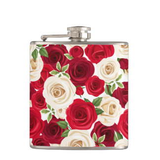 Blanket of Roses Flask