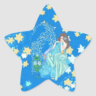 Blanket of Stars Star Sticker