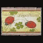 Blanket/Throw - Lepatriinu/Ladybug Throw Blanket
