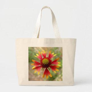 Blanketflower desert wildflower Gaillardia Canvas Bag