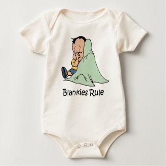 Blankies Rule baby   Baby Bodysuit