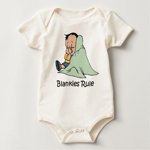 Blankies Rule baby   Creeper