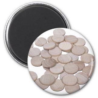 BlankWoodenNickels070911 Fridge Magnets