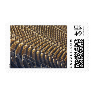 Blanqueadores en el cuenco del algodón sellos postales