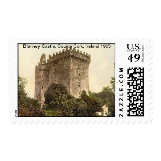 Blarney Castle. County Cork, Ireland 1905 Postage
