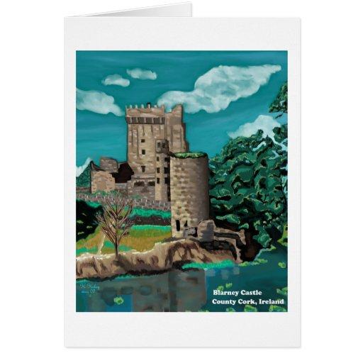Blarney Castle notecard Greeting Card
