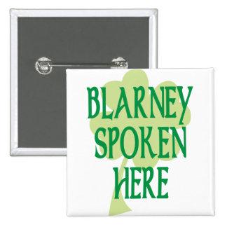 Blarney Spoken Here Button