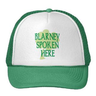 Blarney Spoken Here Trucker Hat