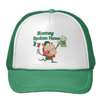 Blarney Spoken Here Trucker Hats