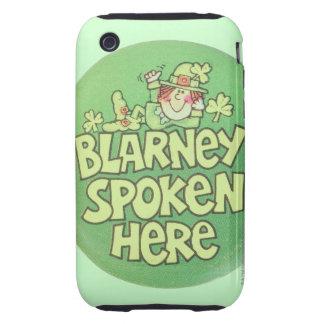 Blarney Spoken Here Tough iPhone 3 Cover