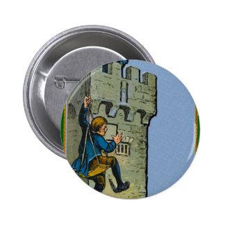 Blarney Stone St Patrick Day Pinback Button