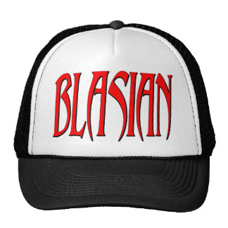 Blasian Trucker Hat
