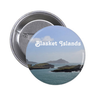 Blasket Islands Pinback Buttons