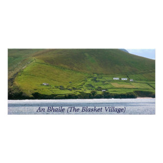 Blasket Village Rack Card