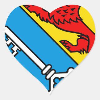 Blason de Islisberg Calcomania Corazon Personalizadas