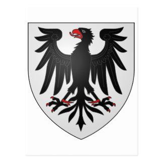 Blason René Lepage de Ste-Claire Canada Coat Arms Post Cards