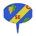 Blason Saint-Etienne-du-Bois Cake Picks