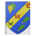 Blason Saint-Etienne-du-Bois Notebook