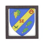 Blason Saint-Etienne-du-Bois Premium Keepsake Box