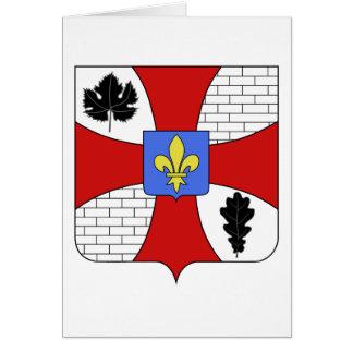 Blason ville fr Garches (Hauts-de-Seine) Card