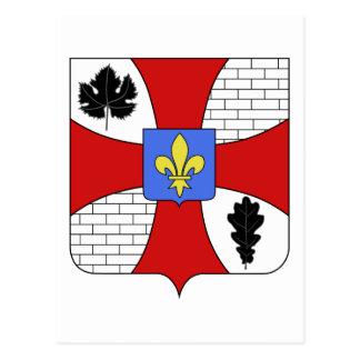 Blason ville fr Garches (Hauts-de-Seine) Postcard