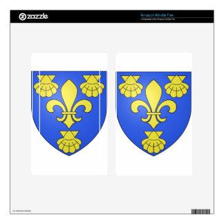 Blason_ville_fr_LaChapelle-du-Lou_(Ille-et-Vilaine Decals For Kindle Fire