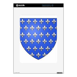 Blason_ville_fr_Saint-Gilles_(Ille-et-Vilaine) iPad Skins
