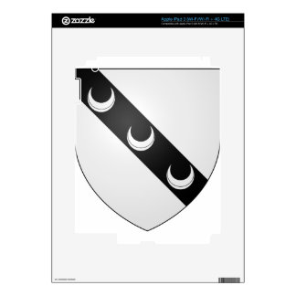 Blason_ville_fr_Saint-Ouen-la-Rouërie_ (Ille-y-Vil iPad 3 Pegatina Skin