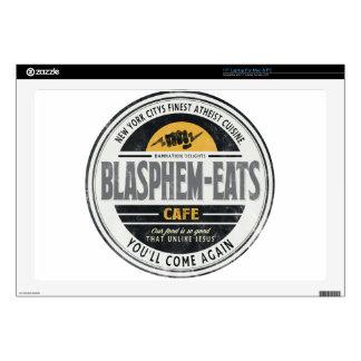 """Blasphem-Eats 17"""" Laptop Skins"""
