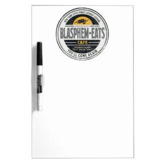 Blasphem-Eats Dry-Erase Board